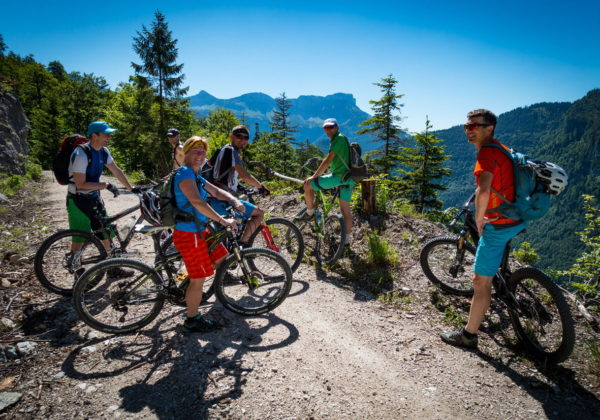 Bike & Hike im Rettenbachtal, Gamskogel 1628m