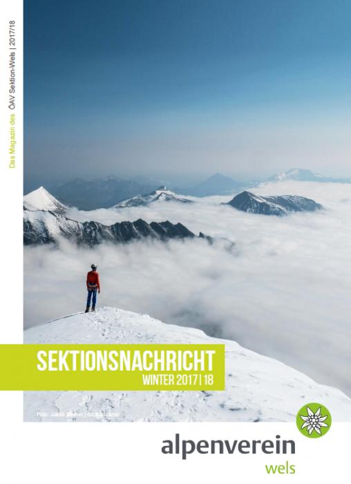 Sektionsnachrichten Winter 2017/2018