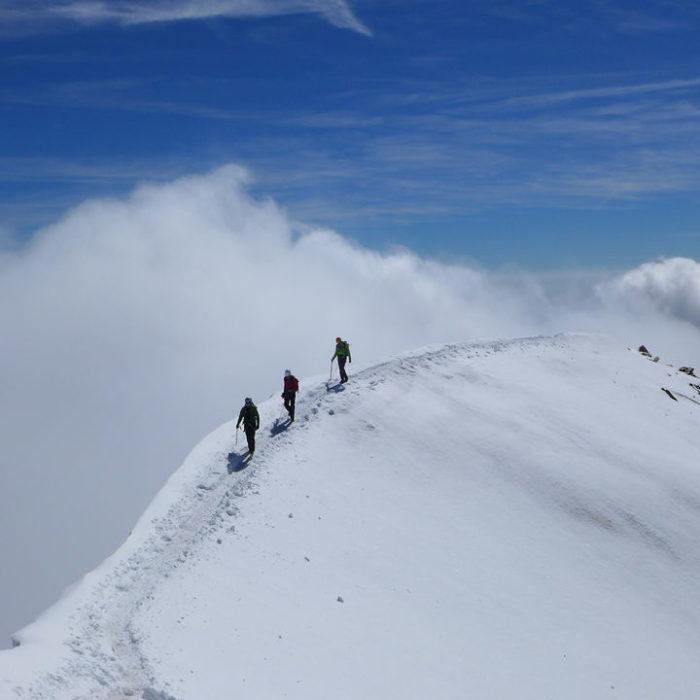 Hochtour in den Walliser Alpen