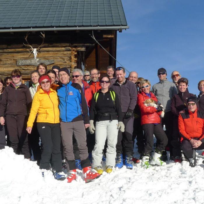 Schnupperschitour Goisererhütte 2013