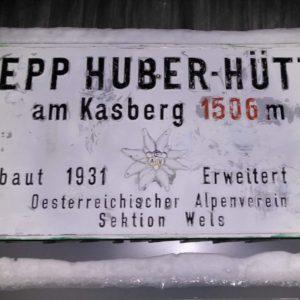 Nachtschitour Grünau - Sepp Huber-Hütte