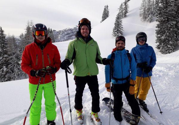 AVJ Skifahren auf der Wurzeralm