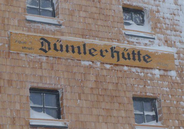 Schnupperschitour Dümlerhütte