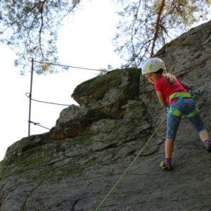 Klettern in Thal, St.Willibald