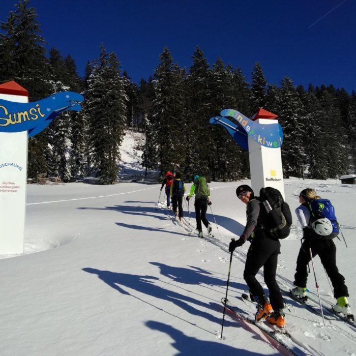 Schnupperschitour Wieserhörndl