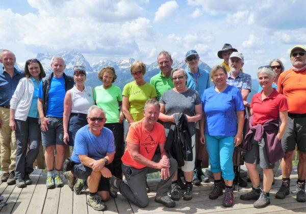 """""""AV+mit Genuss Tour"""" auf den Lagelsberg - Zellerhütte"""