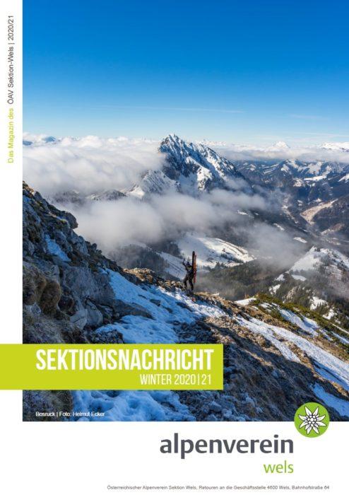 Sektionsnachricht Winter 2020/21