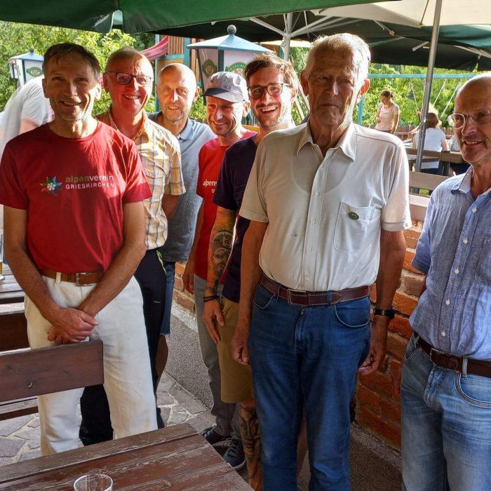 70 Jahre Mitgliedschaft von Dieter Praxmarer