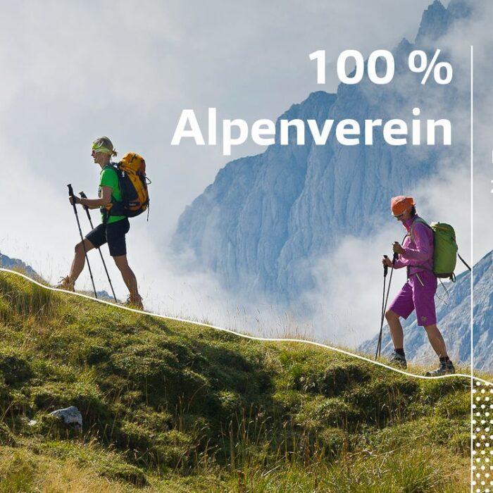 Sportbonus 100% Alpenverein - nur 25% bezahlen
